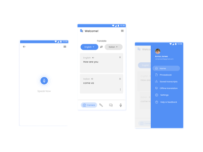 Google Translation App Redesign uxui design translation app google apps mobile app design android app ui android app design app ui design application design mobile app mobile ui ui design uiux ux ui