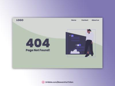 404 Page UI