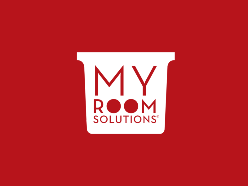 My Room Solutions marie kondo organizer logodesign professional organizer identity logo