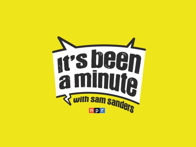It's Been a Minute podcasting podcast art dccomics npr dc art director journalism public media media audio radio identity logo podcast logo public radio podcast