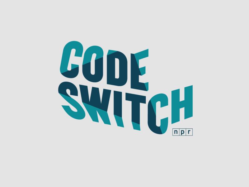 NPR's Code Switch radio audio podcasting podcast branding logos code switch media identity race journalism public media public radio npr