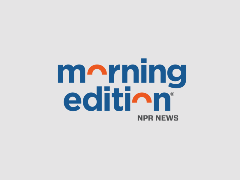 NPR Morning Edition identitydesign identity logo marketing branding npr national journalism nprs morning edition morning edition public media public radio radio news