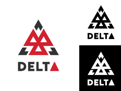 "Geometric Logo ""Delta"""