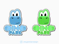 Dino Amusement Park Logo