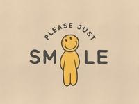 Pleas just smile!