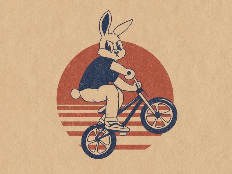 BMX Life Bunny hop event art!