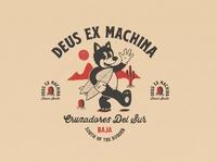 Down South tee deus ex machina deus vintage logo hand lettering logo tshirt design branding cartoon character cartoon vintage illustration