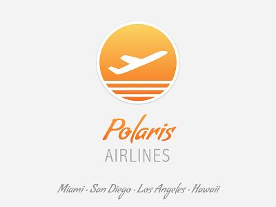 Polaris Airlines Dribbble battle logo reddit