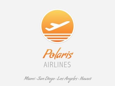 Polaris Airlines Dribbble