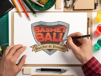 BasmetBall Logo WIP