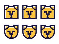 Security Dog Logo Concept Versions