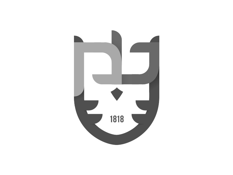 UPB Owls brading typography minimalist design logo basketball sport owl