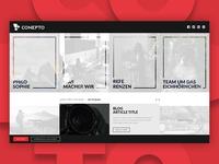 Conepto Agency - Website concept presentation portfolio ux ui website agency design marketing