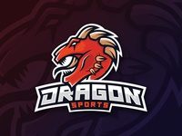 [Logo Mascot] Dragon - Speedart