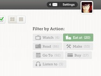 Filter By Action