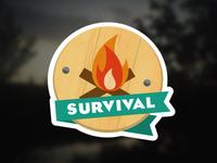Survival Badge