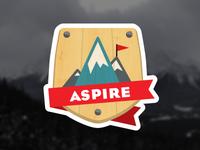 Aspire Badge