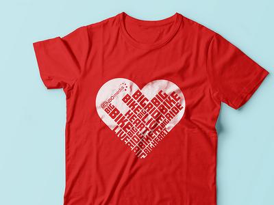 Heart & Stroke Big Bike Ride T Shirt Design