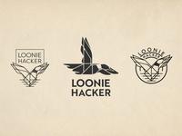 Loonie Hacker Logo Concepts