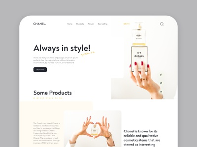 Product Landing Page webdesign website 2020 trends product landing page designs product page product design web ui design design e-commerce website ui ux dribbbble landing page concept