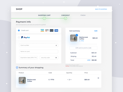 Checkout page checkout page uidesign payment processing checkout process checkout flow designer checkout form ux design ui kit design form design uiux trend 2020 design deisgn page checkout design