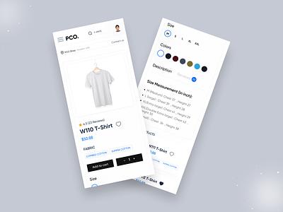 Mobile Responsive uiux ecommerce app e-commerce website ui kits web ui kit app ui kit 2021 trends ux design design website mobile version ui design