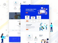 Agency Website UI Design