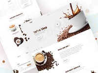 Coffee- Shop Landing Page Design