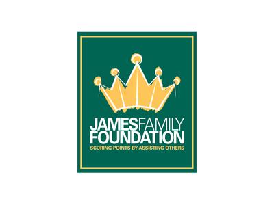 LeBron James Family Foundation Logo logo identity branding