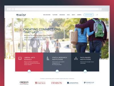 Wisr Home website