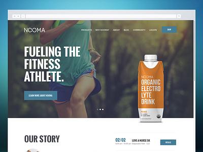 Nooma Website Design branding website