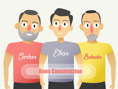 Characters design guy illustrations men animation man flat 2d vector character design