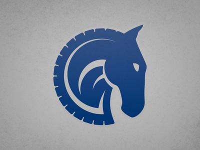 Larkin Horse Transport Logo