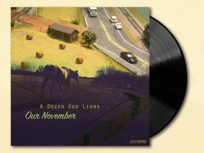 Album design: A Dozen Odd Lions