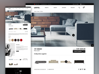 Designer's furnitures e-commerce