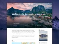 Destination Lofoten