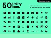 Kawaicon - 50 Glyph Utility icon