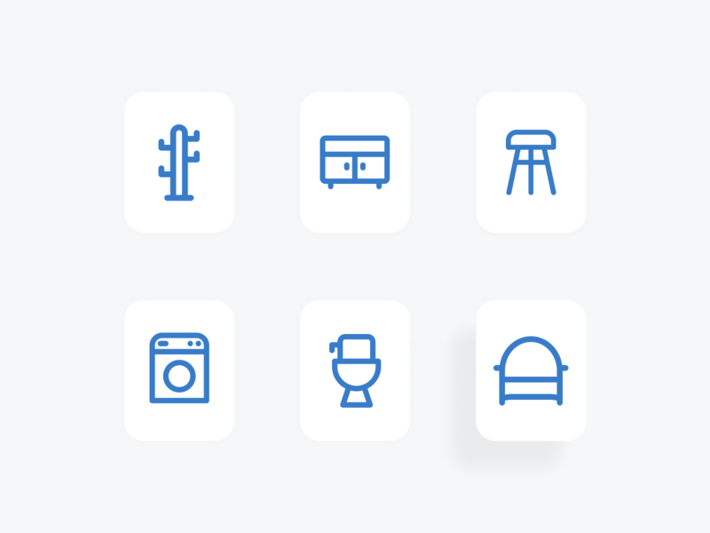 Outline furniture icon outline icon furniture icon icon packs pixel perfect icon design line icon illustration icon set icon icon design icon app icon a day