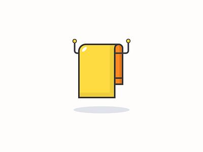 Towel design icon inspiration iconography pixel perfect icon design illustration icon set icon icon design icon app icon a day