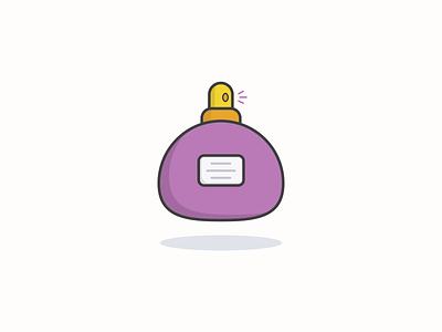 Purple parfume icon inspiration iconographic vector icon vector design iconography design illustration icon set icon icon design icon app icon a day