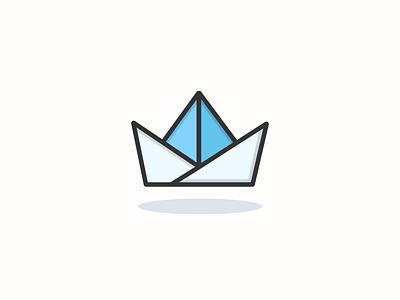 Paper ship icon inspiration vector vector icon vector design iconography pixel perfect icon design icon icon design illustration icon a day