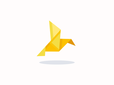 Origami bird icon inspiration vector design vector icon iconography pixel perfect icon design illustration icon icon design icon app icon a day