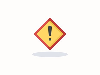 Warning sign icon inspiration vector icon vector design iconography pixel perfect icon design illustration icon icon design icon app icon a day