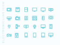 Kawaicon - Electronic Line Icon