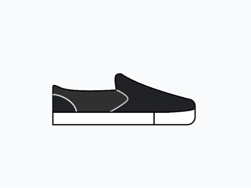 c08c61880d73c8 Vans Pro Filled Line Icon graphic design illustration shoes illustration  filled line icon shoes app design