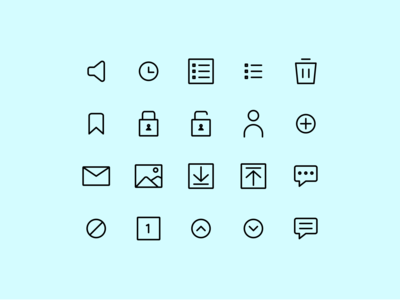 Interface Line Icon