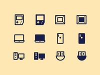 Device & Technology icons