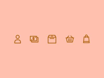 Ecommerce line icon
