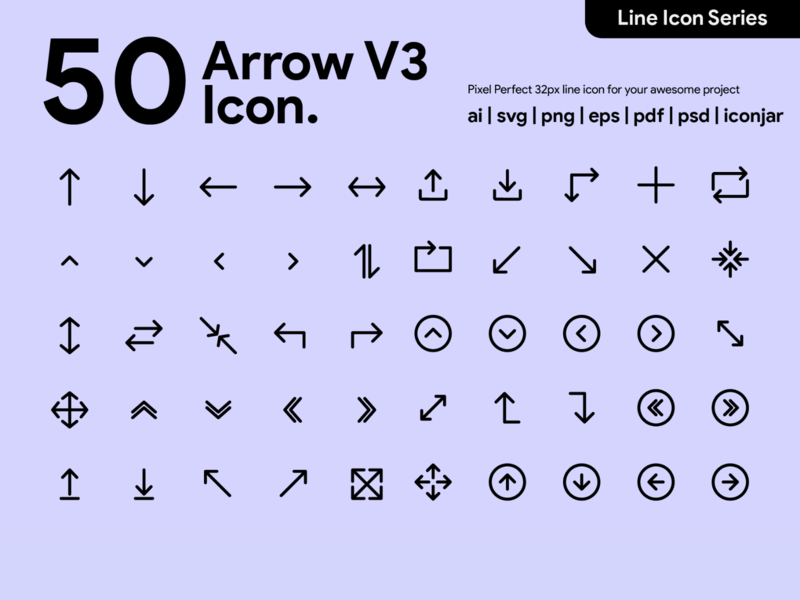 Kawaicon - Arrow Line Icon arrow arrow icon icon packs icon line design line icon illustration icon set icon design icon app icon a day