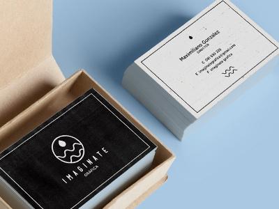 Imaginate business card printing-press printing print logo branding